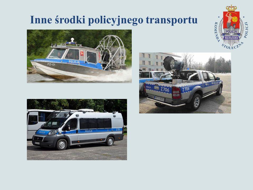 Inne środki policyjnego transportu