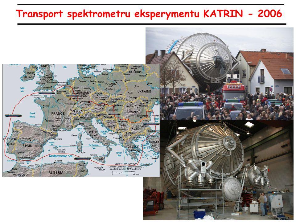 30 Transport spektrometru eksperymentu KATRIN - 2006