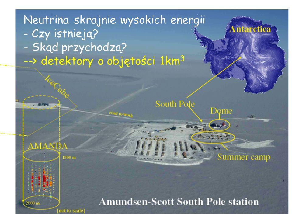 Neutrina skrajnie wysokich energii - Czy istnieją.