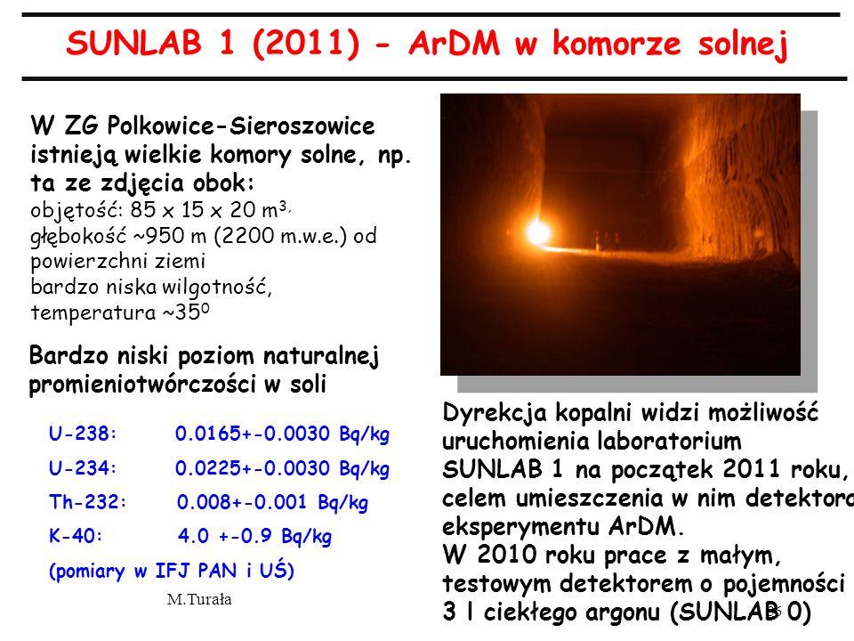 M.Turała 36 W ZG Polkowice-Sieroszowice istnieją wielkie komory solne, np.