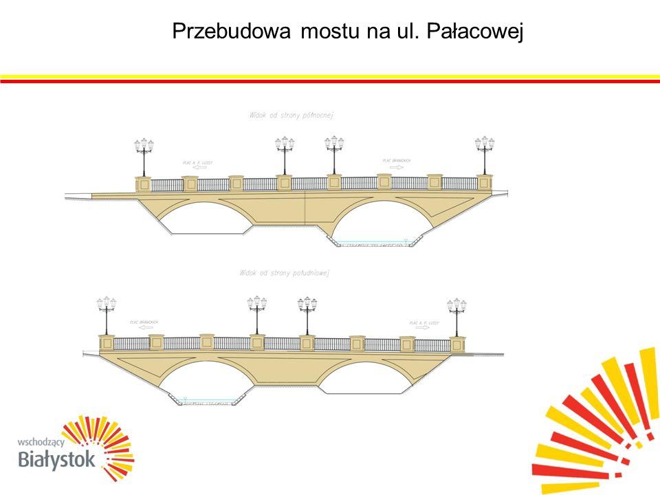 Przebudowa mostu na ul. Pałacowej