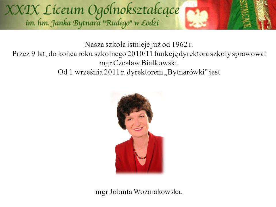 Nasza szkoła istnieje już od 1962 r. Przez 9 lat, do końca roku szkolnego 2010/11 funkcję dyrektora szkoły sprawował mgr Czesław Białkowski. Od 1 wrze