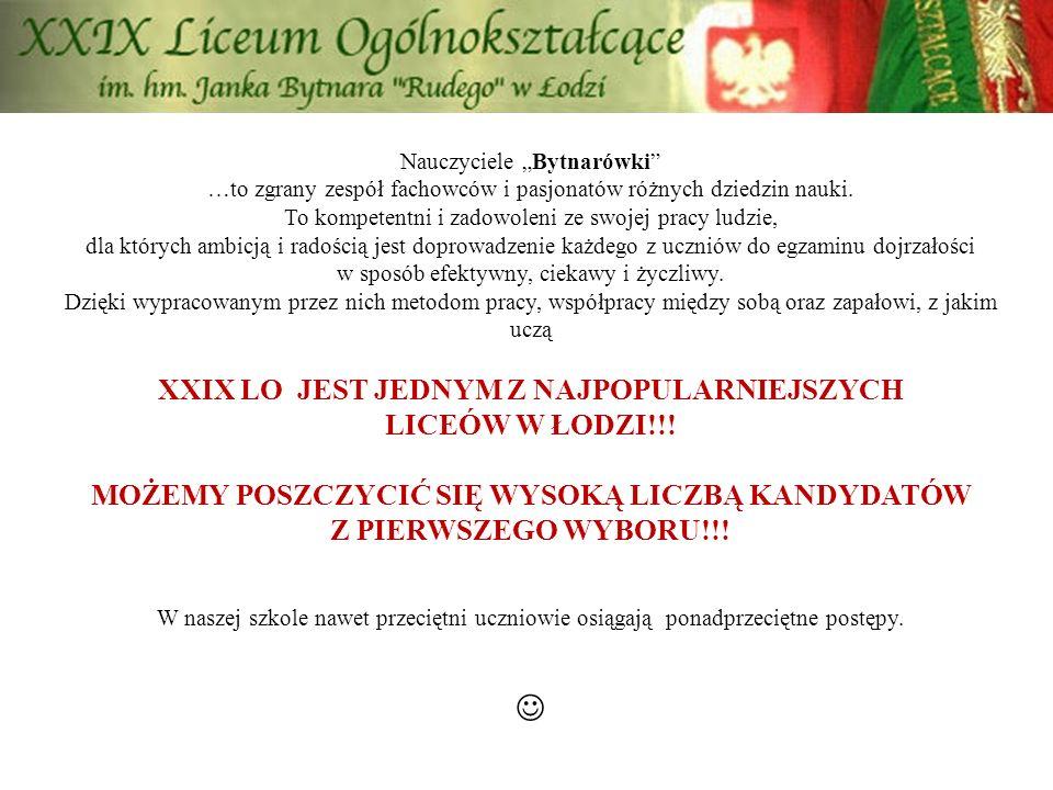 Nasza oferta na rok szkolny 2013/2014