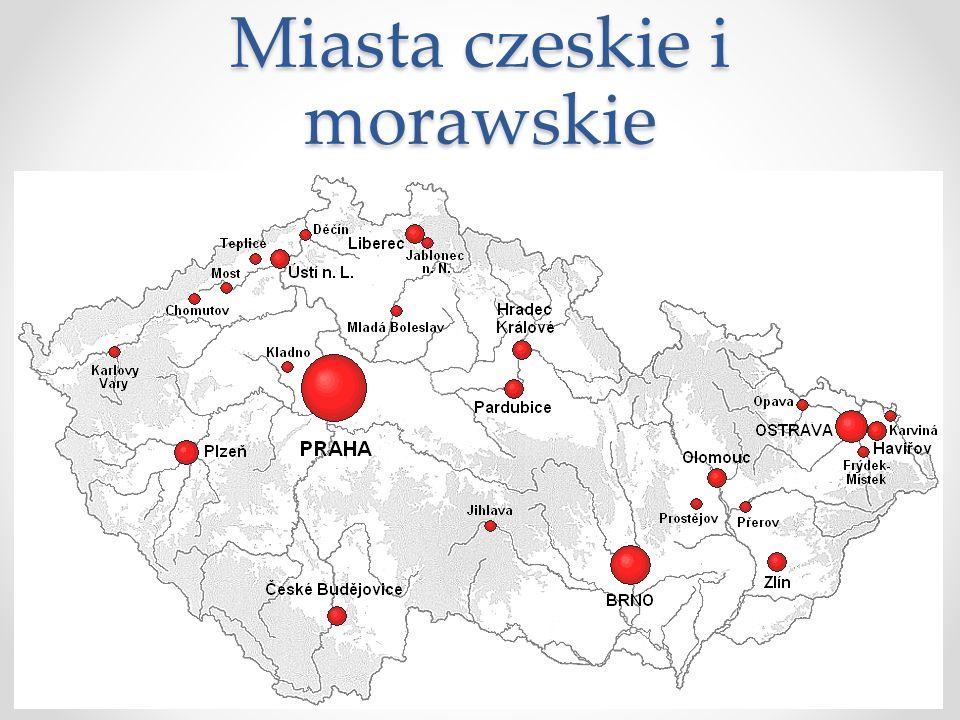 Miasta czeskie i morawskie