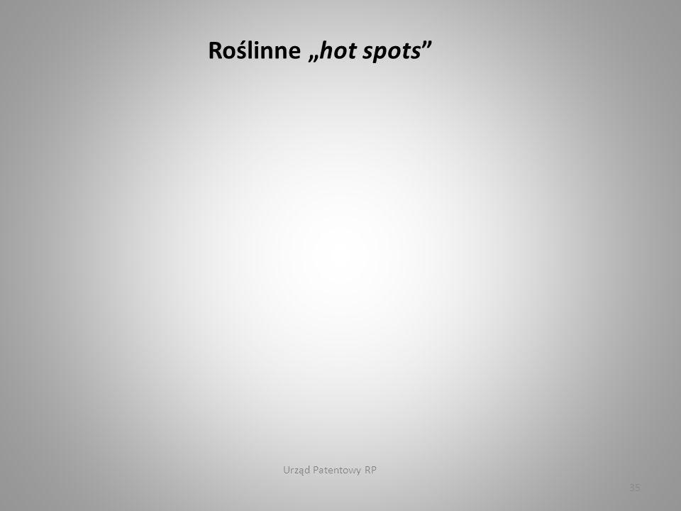 """Urząd Patentowy RP 35 Roślinne """"hot spots"""
