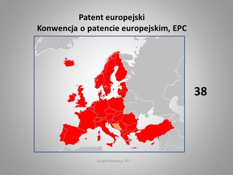 Urząd Patentowy RP Dyrektywa 98/44/EC Parlamentu Europejskiego i Rady w sprawie ochrony prawnej wynalazków biotechnologicznych 28 9