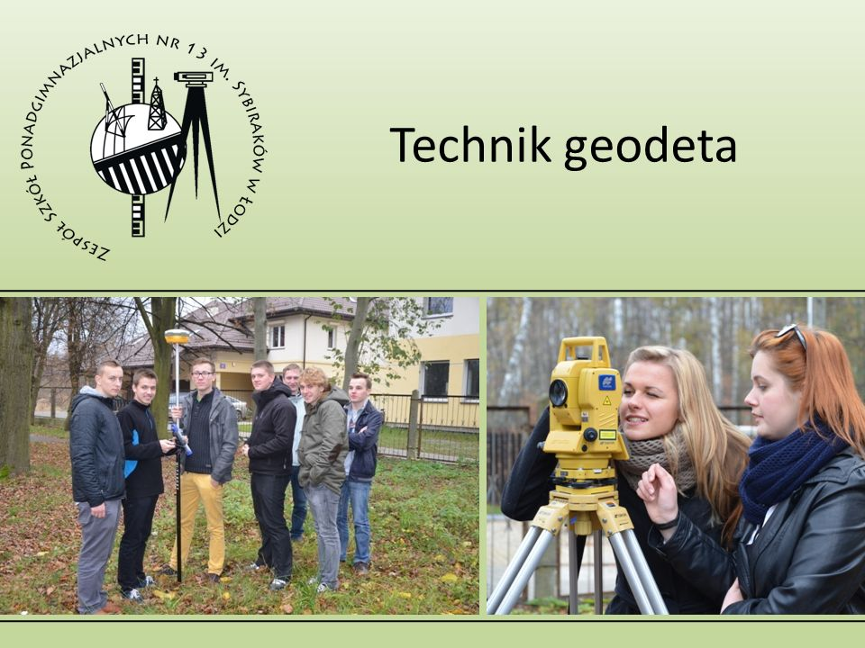 Technik geodeta