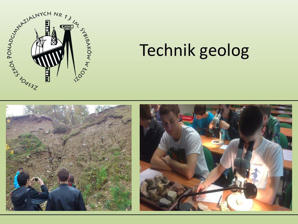 Technik geolog