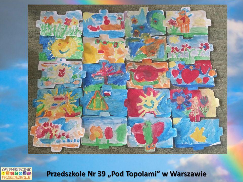 """Przedszkole Nr 39 """"Pod Topolami w Warszawie"""