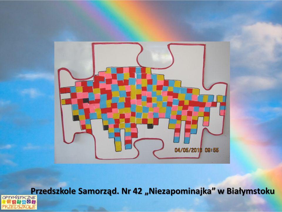 """Przedszkole Samorząd. Nr 42 """"Niezapominajka w Białymstoku"""