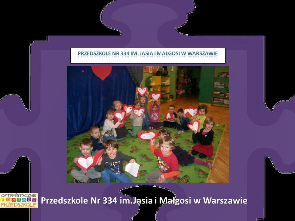 Przedszkole Nr 334 im.Jasia i Małgosi w Warszawie