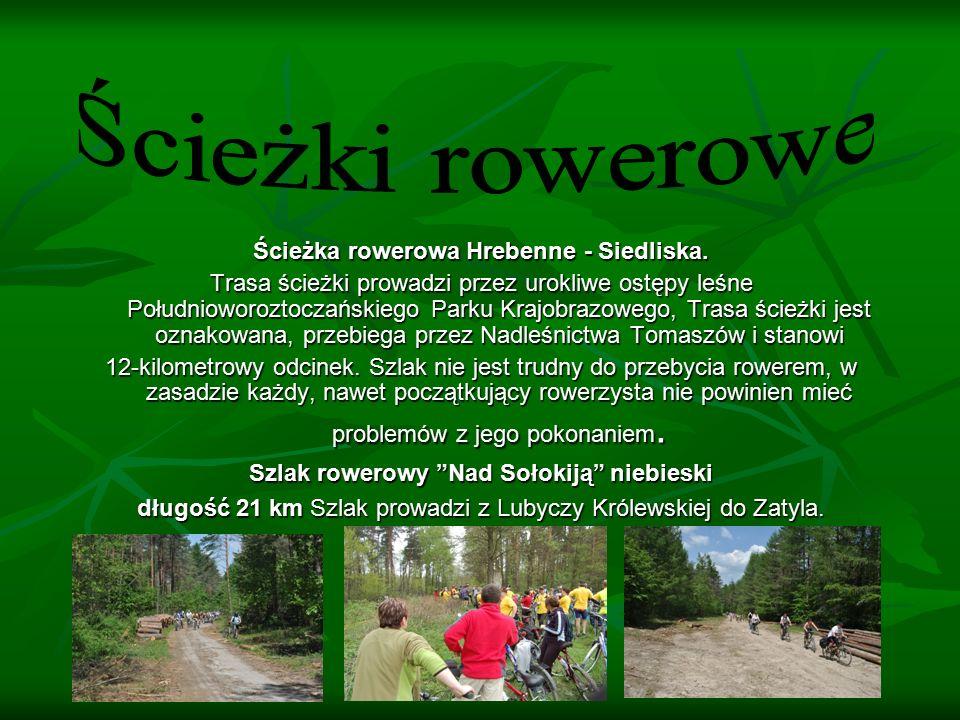 Ścieżka rowerowa Hrebenne - Siedliska.