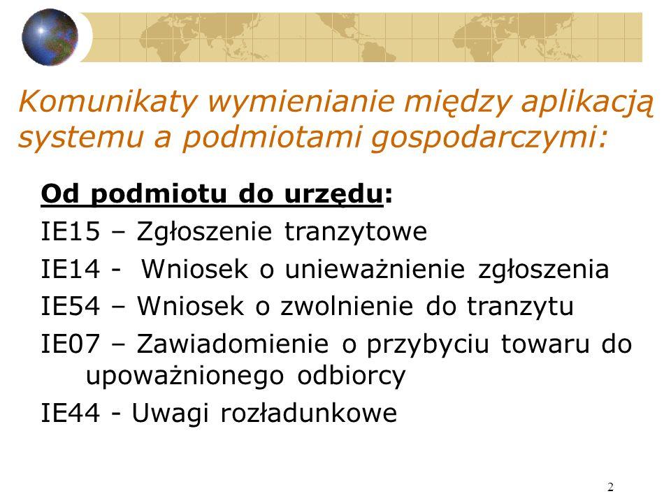 13 http://europa.eu.int/comm/taxation_customs/dds/en/csrdhome.htm