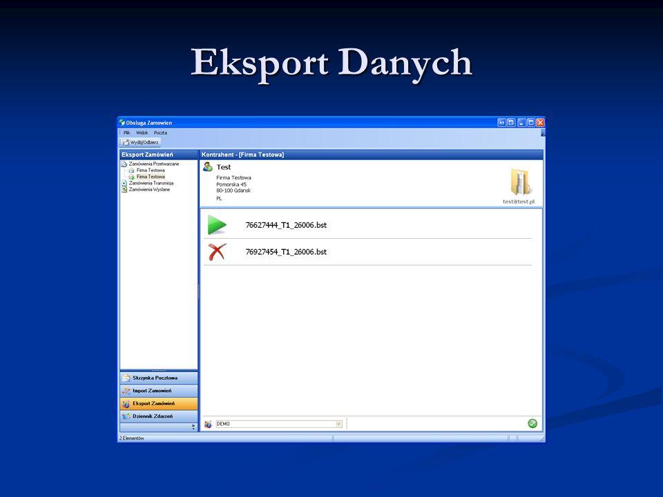 Eksport Danych