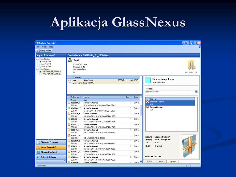 Aplikacja GlassNexus