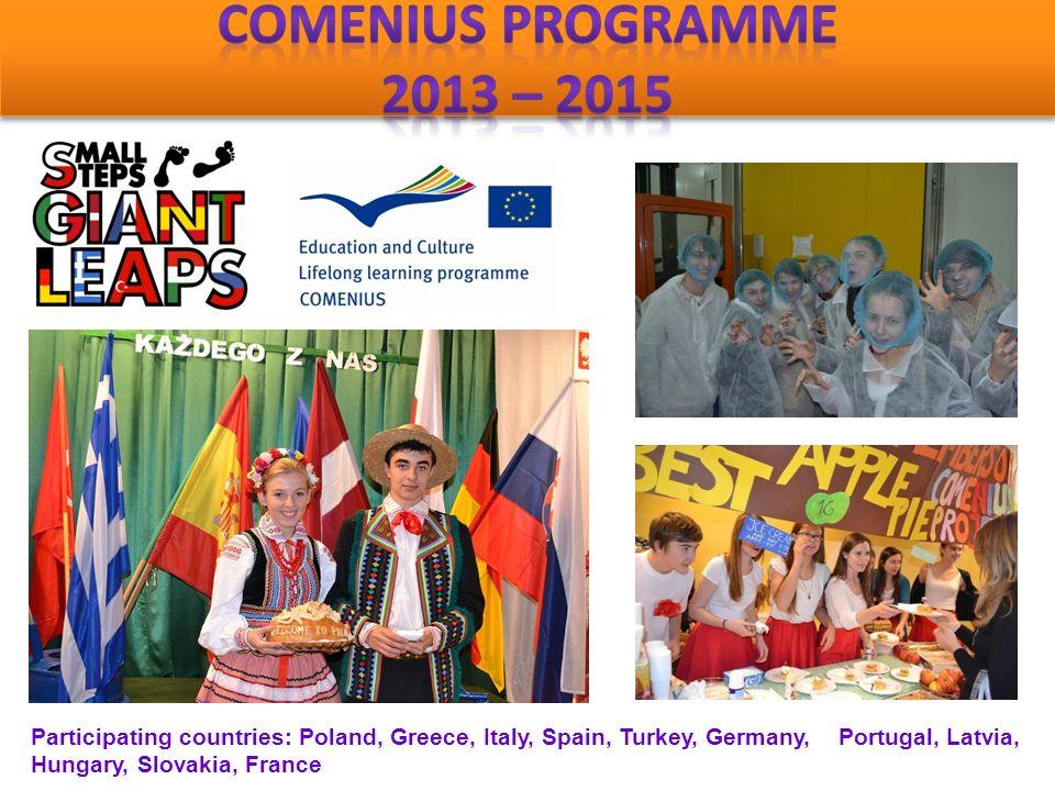Participating countries: Greece, Sweden, Norway, Austria, Poland