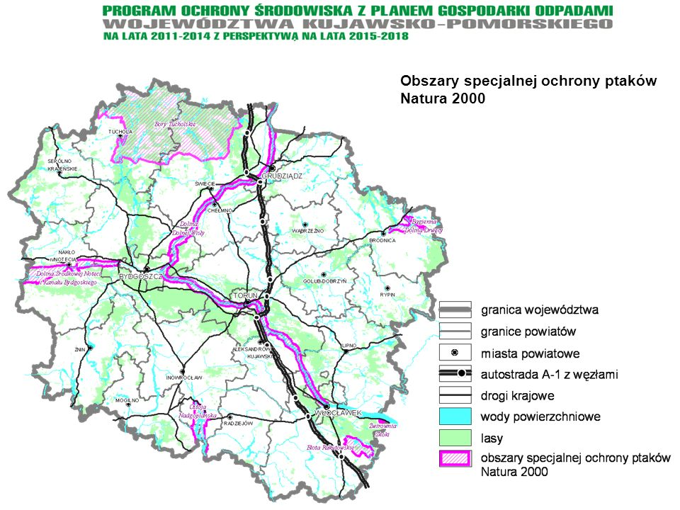 Obszary specjalnej ochrony ptaków Natura 2000