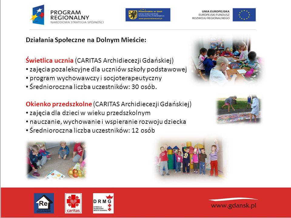Świetlica ucznia (CARITAS Archidiecezji Gdańskiej) zajęcia pozalekcyjne dla uczniów szkoły podstawowej program wychowawczy i socjoterapeutyczny Średni