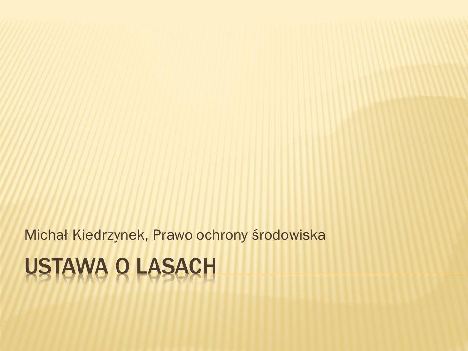 Michał Kiedrzynek, Prawo ochrony środowiska