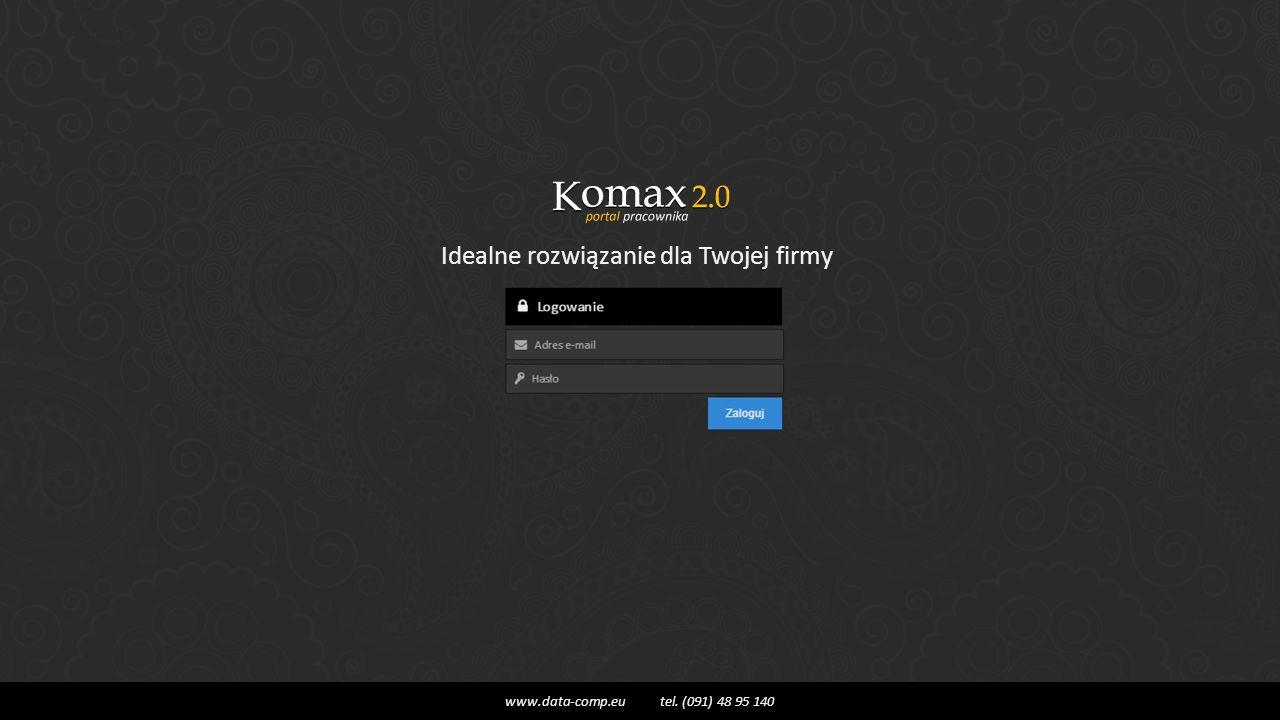 Idealne rozwiązanie dla Twojej firmy www.data-comp.eu tel. (091) 48 95 140