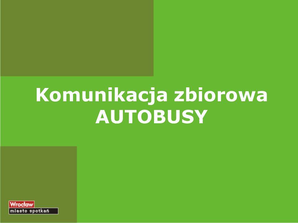 Komunikacja zbiorowa AUTOBUSY