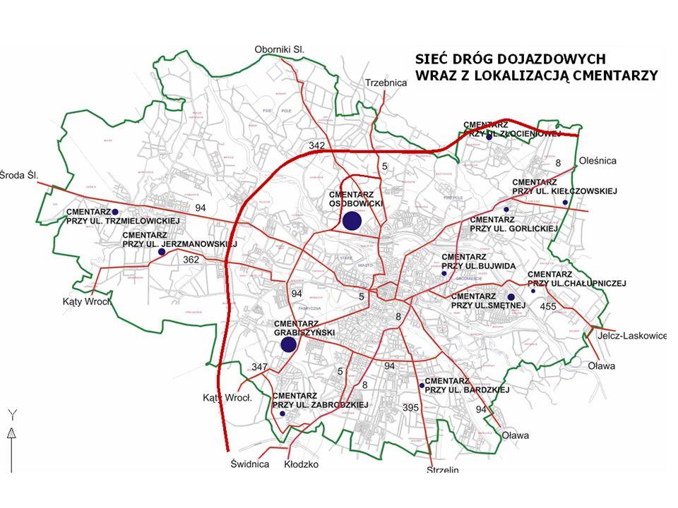 Organizacja ruchu w rejonie cmentarza na ul. Osobowickiej w dniach 31.10 i 01.11.2015 r.
