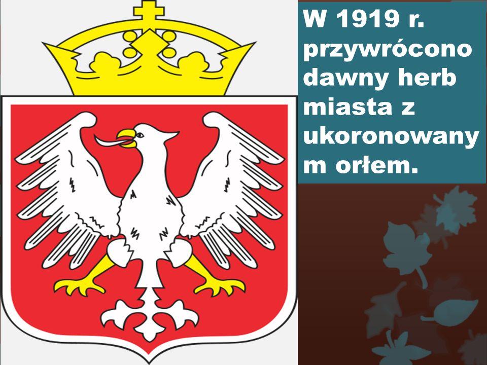Po odzyskaniu niepodległości w 1919 r.