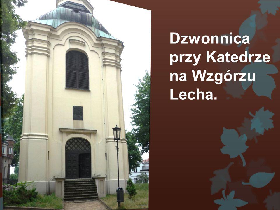 Wzgórze Lecha na którym stoi Katedra w Gnieźnie.