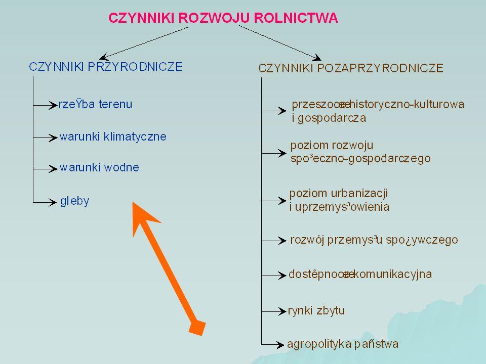 Przemiany w produkcji roślinnej [1] Postęp techniczny generuje wzrost plonów (za chwilę będzie przeźrocze ilustrujące tę tezę).