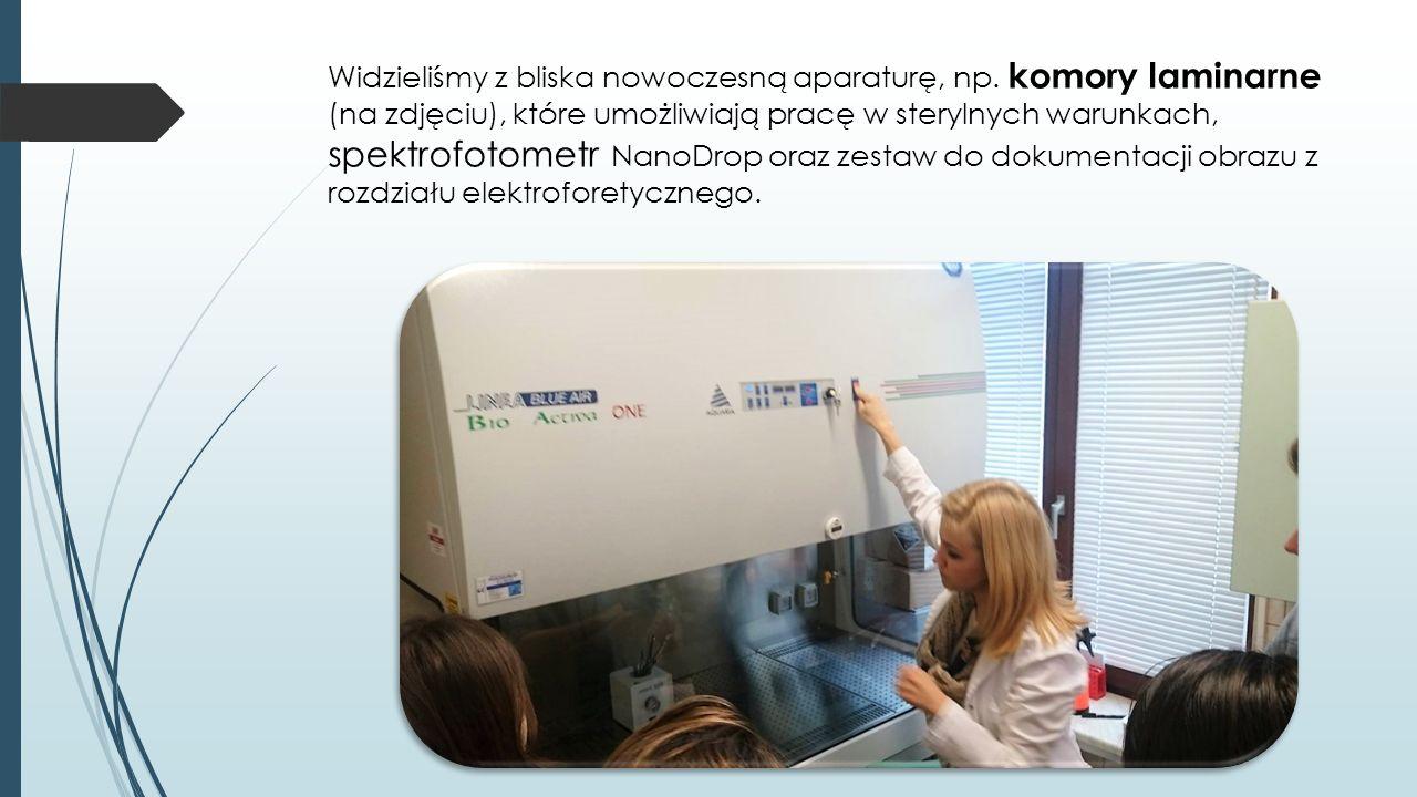 """ Na koniec wysłuchaliśmy wykładu Aleksandry Wawro o tytule """"Tasowanie genomowe , który traktował o drożdżach i ich biotechnologicznych możliwościach."""
