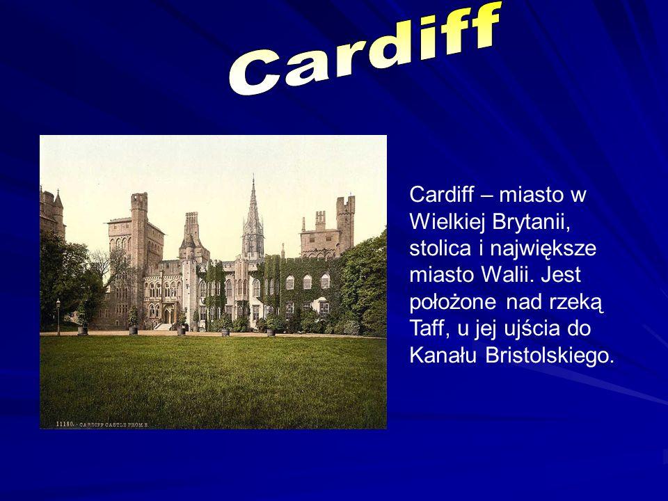 Cardiff – miasto w Wielkiej Brytanii, stolica i największe miasto Walii. Jest położone nad rzeką Taff, u jej ujścia do Kanału Bristolskiego.
