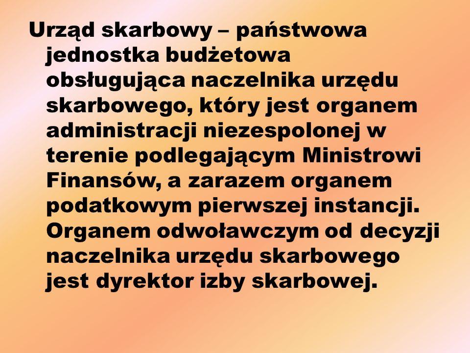 Urząd skarbowy – państwowa jednostka budżetowa obsługująca naczelnika urzędu skarbowego, który jest organem administracji niezespolonej w terenie podlegającym Ministrowi Finansów, a zarazem organem podatkowym pierwszej instancji.