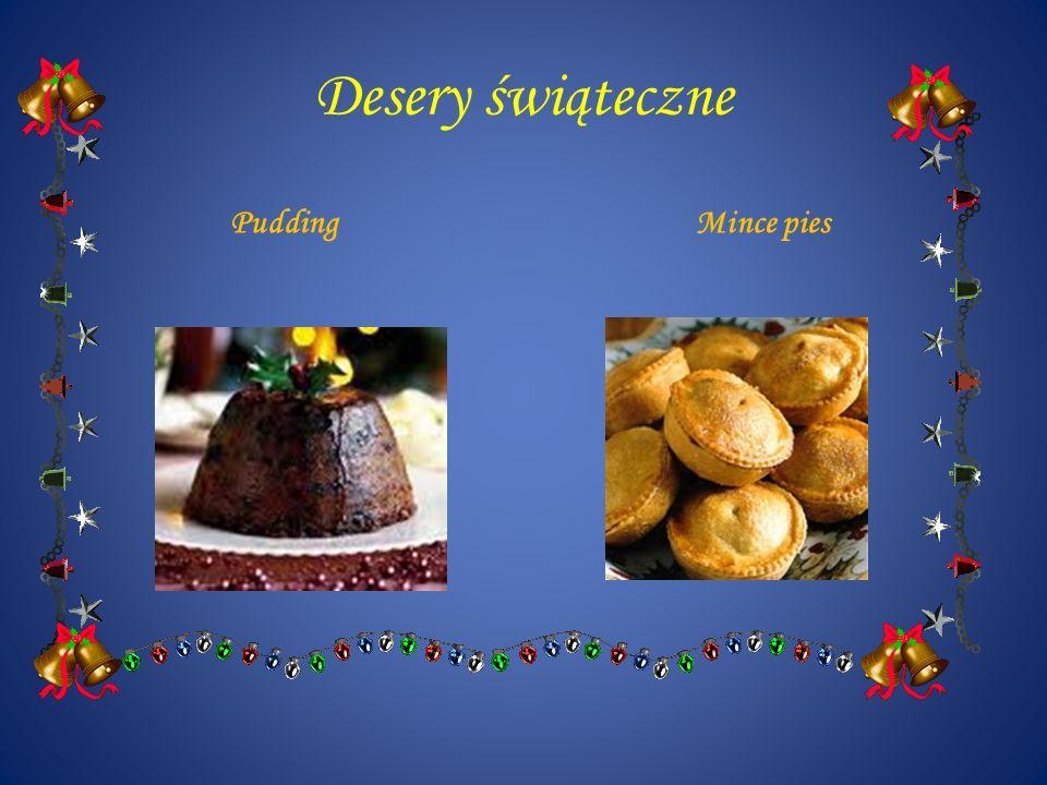 Desery świąteczne PuddingMince pies