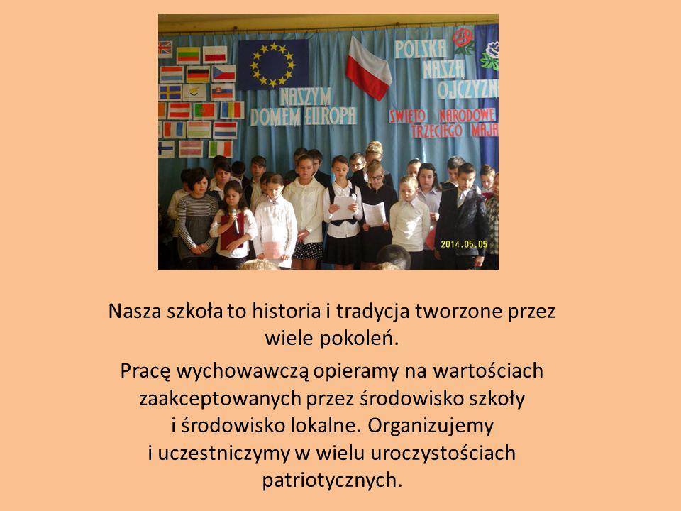 Nasza szkoła to historia i tradycja tworzone przez wiele pokoleń.