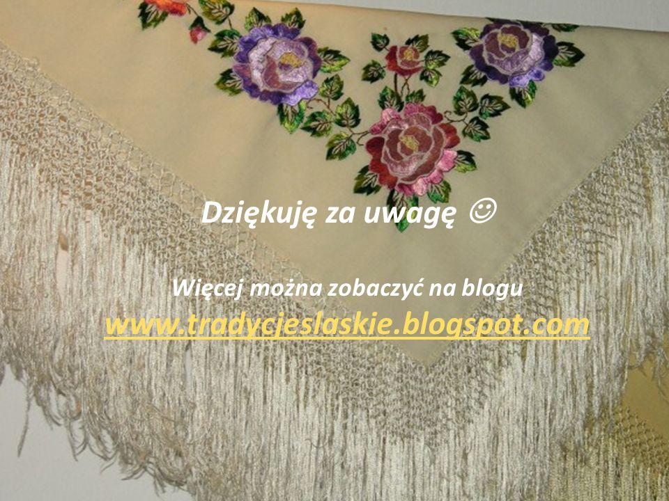 Zwyczaje zimowe Dziękuję za uwagę Więcej można zobaczyć na blogu www.tradycjeslaskie.blogspot.com