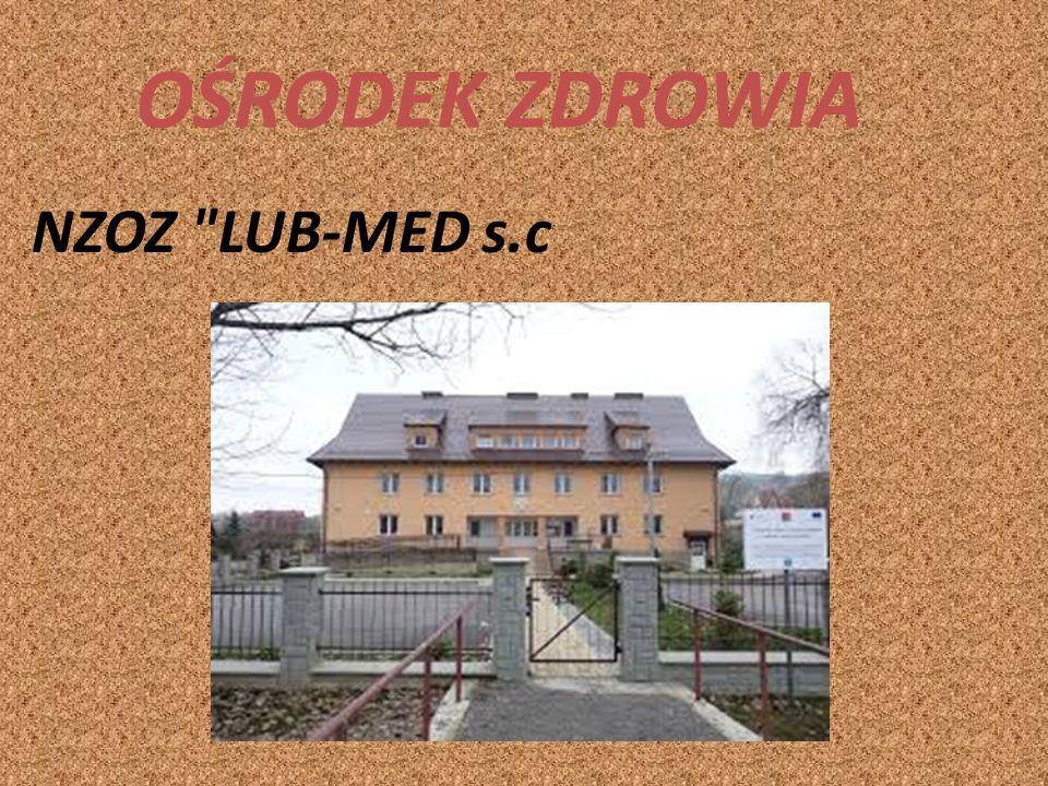Gminna Biblioteka Publiczna W Gminnej Bibliotece Publicznej w Lubniu znajduje się wypożyczalnia, czytelnia, a od 2004 roku dostępne są dla mieszkańców 3 stanowiska komputerowe z dostępem do Internetu.