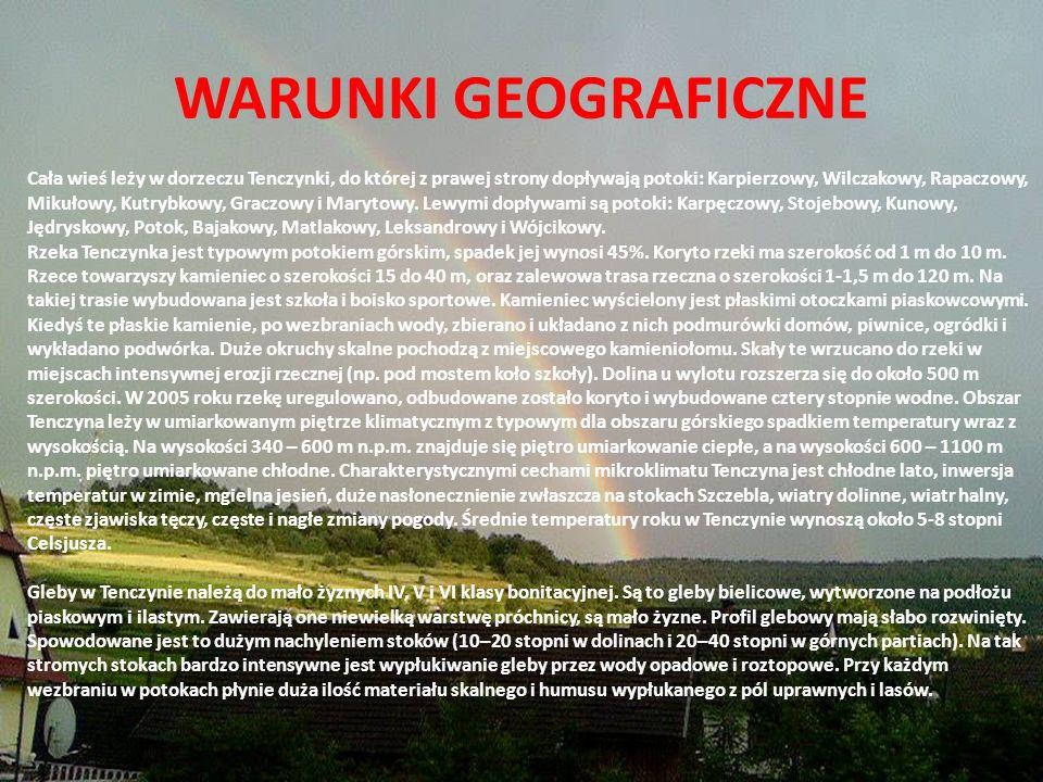 ŚREDNIOWIECZE Pierwsze wzmianki historyczne wsi sięgają początków XV w.