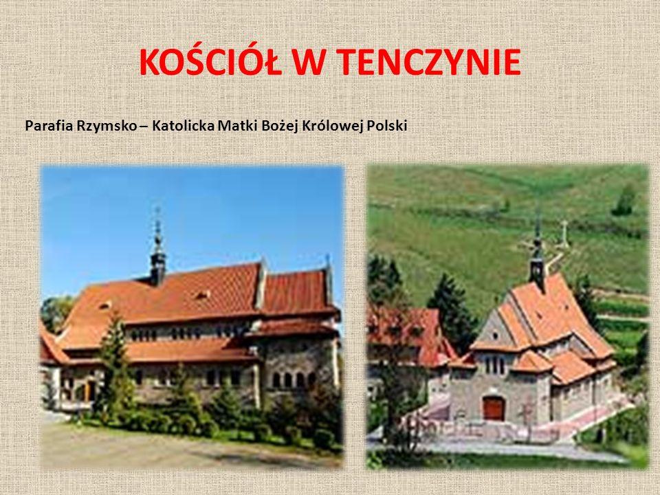 POŁOŻENIE Miejscowość położona jest przy drodze krajowej 7 (fragment międzynarodowej trasy E77) z Krakowa do Zakopanego, stanowiącej na tym odcinku część Zakopianki.