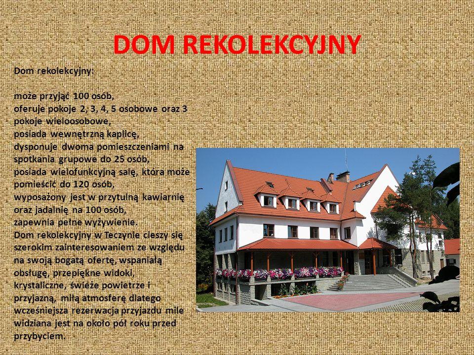 KOŚCIÓŁ W TENCZYNIE Parafia Rzymsko – Katolicka Matki Bożej Królowej Polski