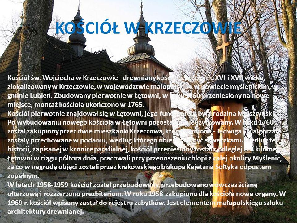 KRZECZÓW Sołectwo Krzeczów jest najmniejszą miejscowością w gminie.