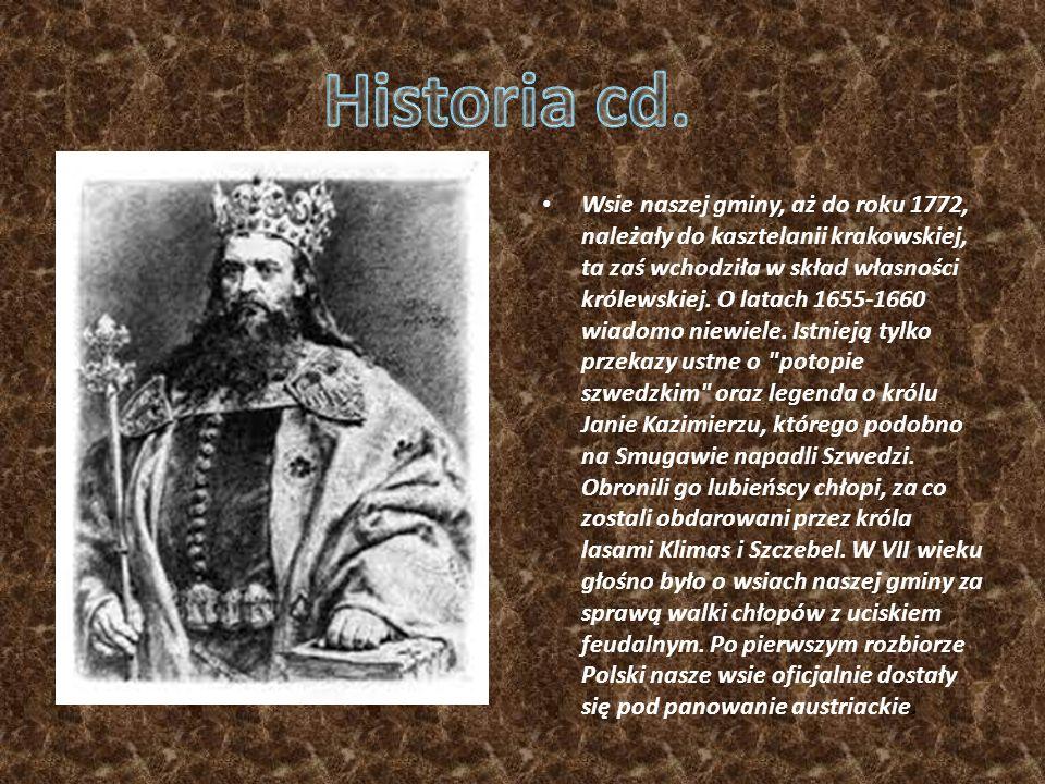 Pierwsze wzmianki w źródłach historycznych pojawiają się w roku 1360 - Kazimierz Wielki wystawił wówczas przywilej lokacyjny Mikołajowi z Uścia.