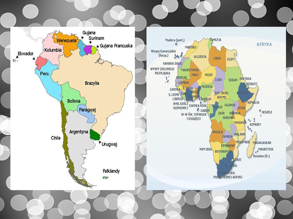 Burza mózgów :D Wymieńcie swoje skojarzenia związane z Ameryką Południową.