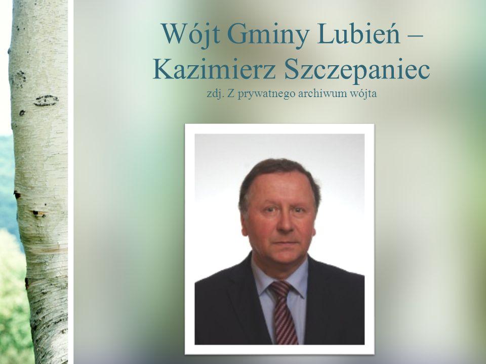 Wójt Gminy Lubień – Kazimierz Szczepaniec zdj. Z prywatnego archiwum wójta