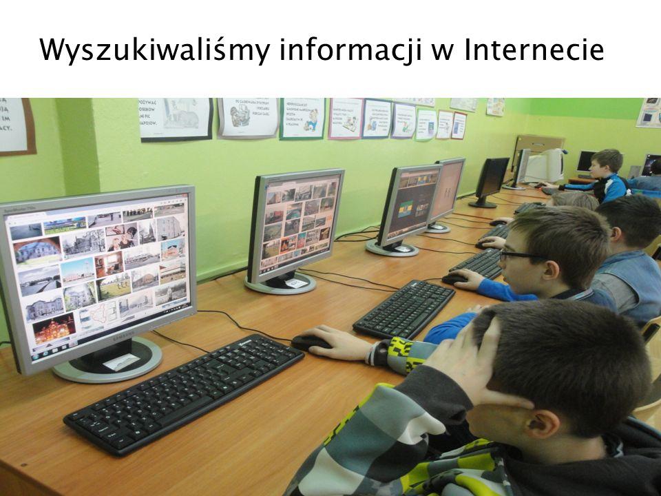 Wyszukiwaliśmy informacji w Internecie