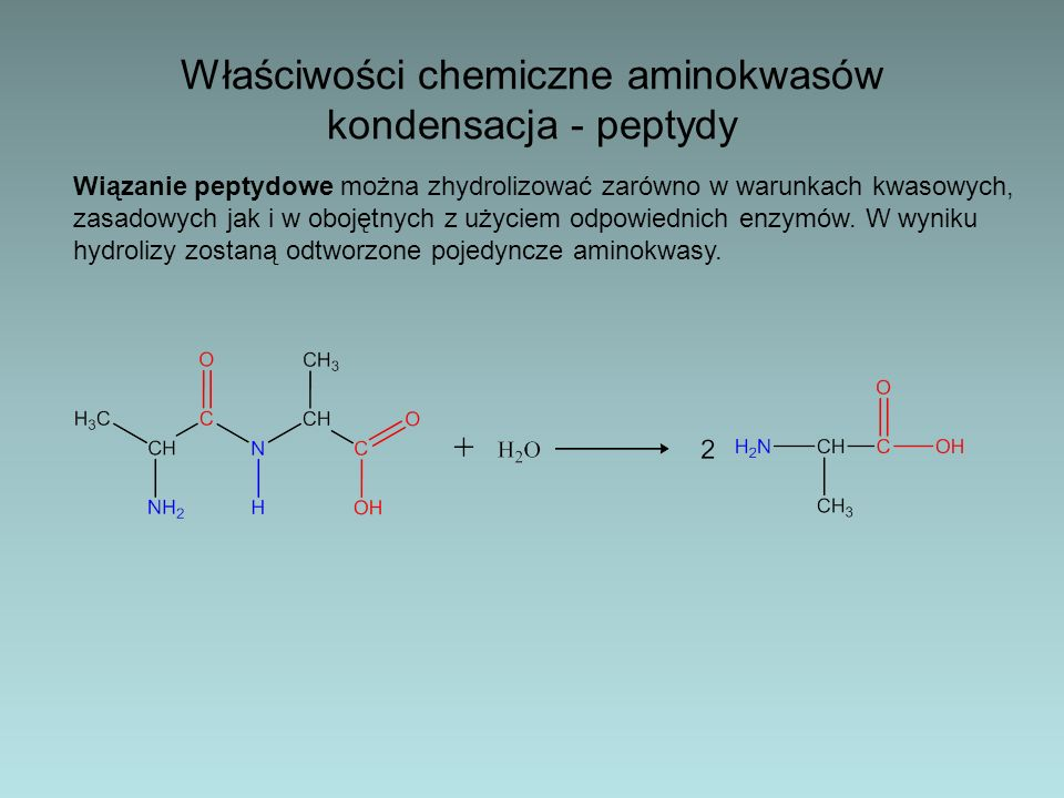 Reakcja ksantoproteinowa – Pewne reakcje, którym ulegają niektóre aminokwasy wchodzące w skład białek, stosuje się jako próby rozpoznawcze na obecność białek.