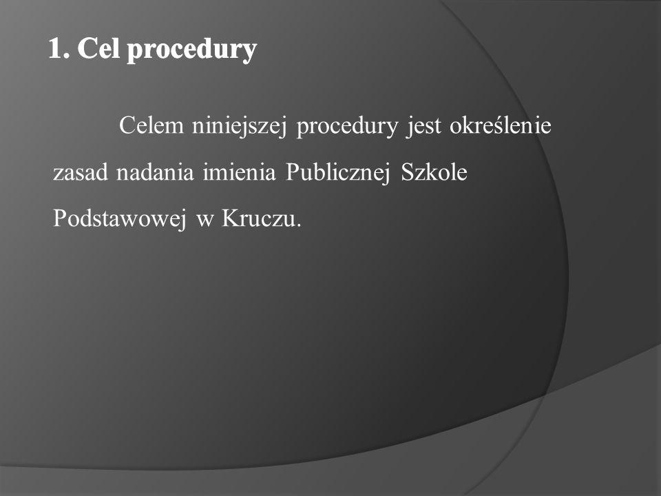 Procedura swym zakresem obejmuje wszystkich uczniów, ich rodziców (opiekunów prawnych), nauczycieli oraz pracowników obsługi Publicznej Szkoły Podstawowej w Kruczu.