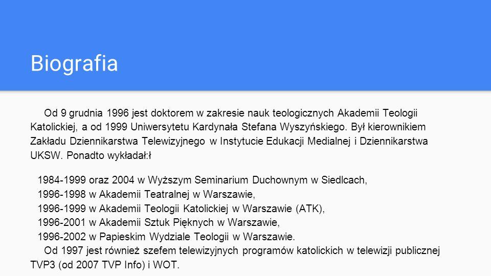 Działalność księdza w naszej gminie Od 10 grudnia 1993 do 11 stycznia 1994 w drugi piątek każdego miesiąca odbywały się spotkania inteligencji z terenu i okolic Zbuczyna prowadzone przez ks.