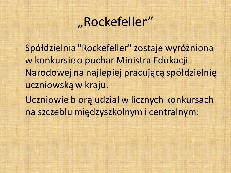 """""""Rockefeller"""" Spółdzielnia"""