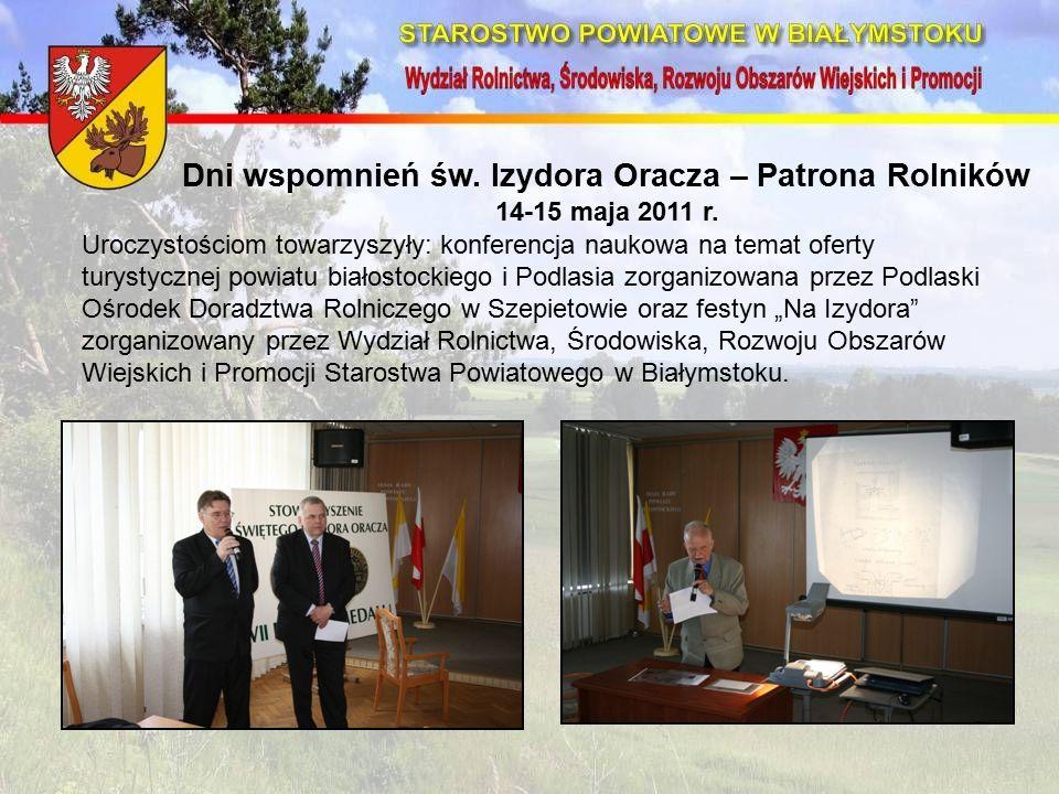 Dni wspomnień św. Izydora Oracza – Patrona Rolników 14-15 maja 2011 r.
