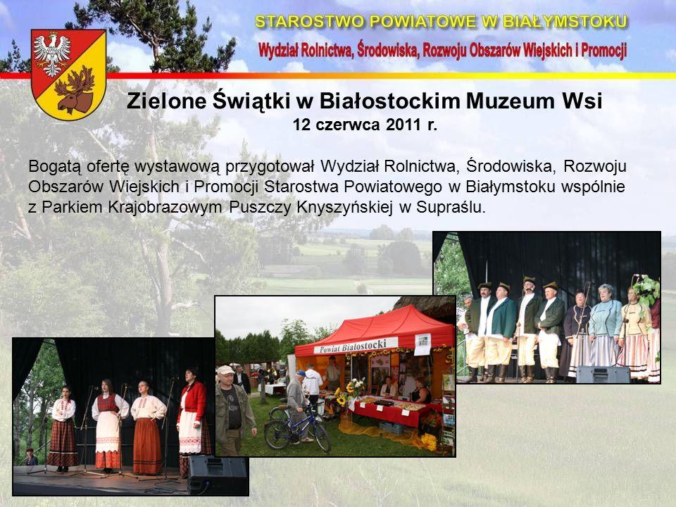 Zielone Świątki w Białostockim Muzeum Wsi 12 czerwca 2011 r.